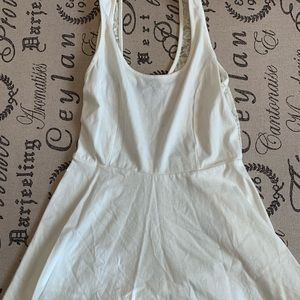 White and Lace Dress